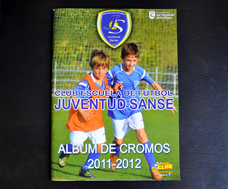Album de cromos de futbol