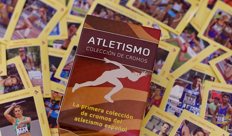 Album de cromos atletismo
